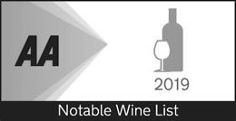 2019 AA Notable Wine List Award